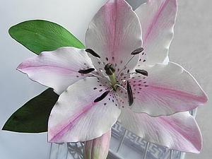 МК по лилии из фоамирана | Ярмарка Мастеров - ручная работа, handmade