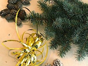 Симпатичный новогодний декор за 15 минут. Ярмарка Мастеров - ручная работа, handmade.