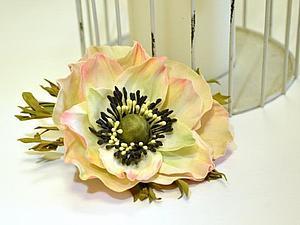 Базовый МК по цветам из фоамирана