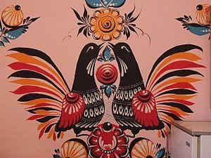 Основные элементы росписи. Ярмарка Мастеров - ручная работа, handmade.