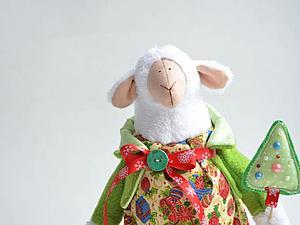 СКОРО!!! Новый набор-новогодняя овечка | Ярмарка Мастеров - ручная работа, handmade