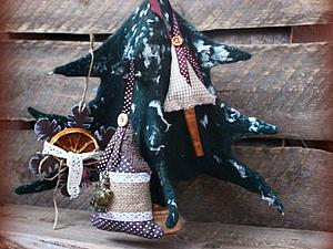 Создаем объемную многофункциональную елку в технике мокрого валяния. Ярмарка Мастеров - ручная работа, handmade.