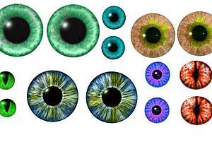 Фотошоп для начинающих: создаем радужку глаза. Ярмарка Мастеров - ручная работа, handmade.