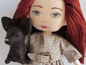 Мастер-класс для девочек: шьем плащ для куклы. Ярмарка Мастеров - ручная работа, handmade.