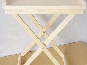 Новый вариант столика-подноса   Ярмарка Мастеров - ручная работа, handmade