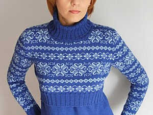 73c0290e3d99 Мастер-класс  свитер для кормления малыша   Ярмарка Мастеров - ручная  работа, handmade