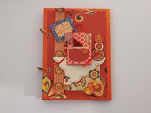 Кулинарный блокнот в русском стиле | Ярмарка Мастеров - ручная работа, handmade