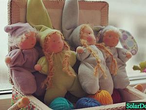 Мастер-класс по шитью Вальдорфской куклы - гномиков и феечек. | Ярмарка Мастеров - ручная работа, handmade