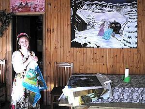 Традиционное русское платье и вышивка в староверческом поселении в Уругвае.   Ярмарка Мастеров - ручная работа, handmade