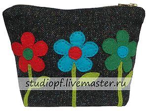 Новое поступление - косметичка «Цветы» | Ярмарка Мастеров - ручная работа, handmade