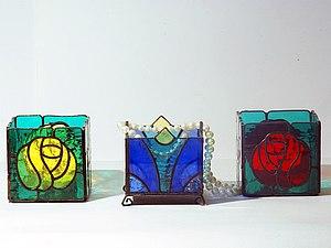 Витражи из стекла в технике Тиффани! | Ярмарка Мастеров - ручная работа, handmade