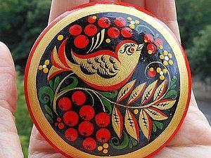 МК Роспись по дереву «Сёминская хохлома» (с нуля)   Ярмарка Мастеров - ручная работа, handmade