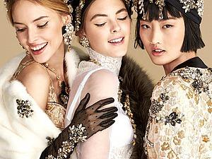 Сезон романтики, или Lookbook Dolce&Gabbana весна-лето 2016. Ярмарка Мастеров - ручная работа, handmade.