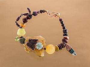 Дополнительные фотографии браслета с бабочкой на камне | Ярмарка Мастеров - ручная работа, handmade
