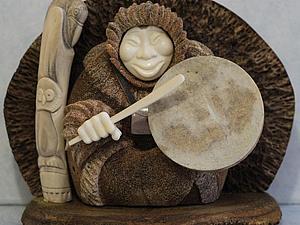«С Чукотки с любовью»: художественная обработка кости   Ярмарка Мастеров - ручная работа, handmade