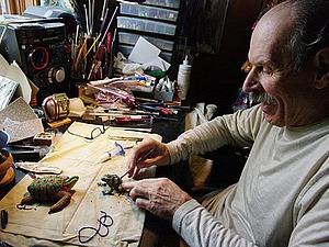 Бисерный мир удивительных художников. Супруги Tom and Kathy Wegman. Ярмарка Мастеров - ручная работа, handmade.