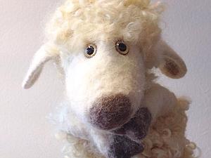 новогодний мастер-класс по валяным овечкам и козам-бибабо   Ярмарка Мастеров - ручная работа, handmade