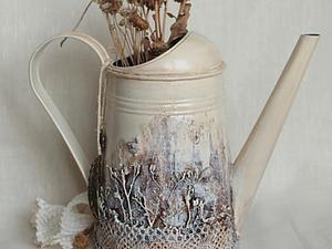 «В заколдованном лесу», или Преображение обычной лейки в сказочную | Ярмарка Мастеров - ручная работа, handmade
