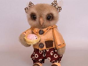 Мастер-класс: сова с гнездышком. Ярмарка Мастеров - ручная работа, handmade.