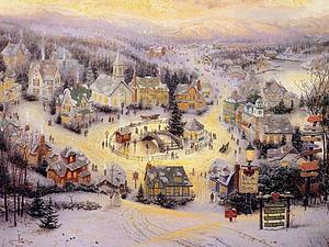 Новый год и Рождество глазами художников. Ярмарка Мастеров - ручная работа, handmade.