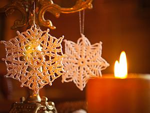 Новая коллекция снежинок | Ярмарка Мастеров - ручная работа, handmade