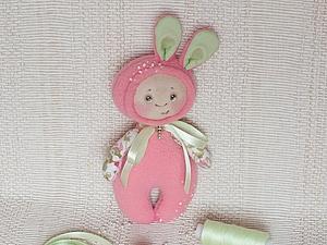 Мастер-класс: зайка-малышка Мелисса... | Ярмарка Мастеров - ручная работа, handmade