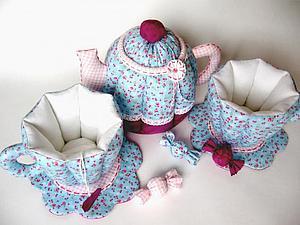Текстильная посуда | Ярмарка Мастеров - ручная работа, handmade