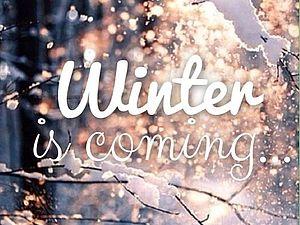 Зима близко | Ярмарка Мастеров - ручная работа, handmade