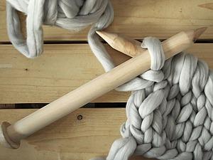 Крупная вязка: обзор пряжи и инструментов. Ярмарка Мастеров - ручная работа, handmade.