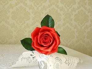 Мастер-класс по лепке розы полноразмерной. | Ярмарка Мастеров - ручная работа, handmade