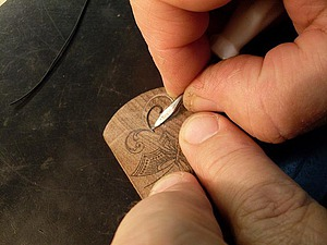 Секреты тульской всечки. Урок 4: соединение (сопряжение) элементов рисунка всечки. Ярмарка Мастеров - ручная работа, handmade.