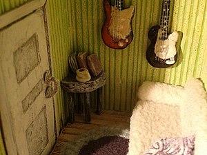 Изготовление миниатюрной комнаты с мебелью :). Ярмарка Мастеров - ручная работа, handmade.