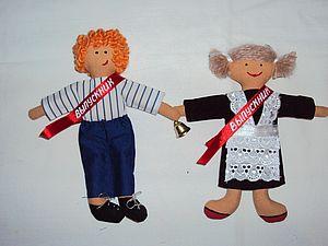 Шьем мини-куклу «Выпускник». Ярмарка Мастеров - ручная работа, handmade.
