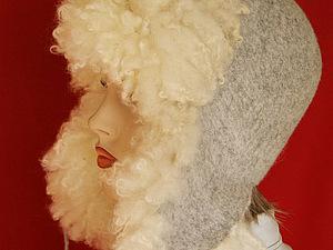 Мастер-класс Власовой Е. по валянию шапки ушанки с флисом в Москве. | Ярмарка Мастеров - ручная работа, handmade