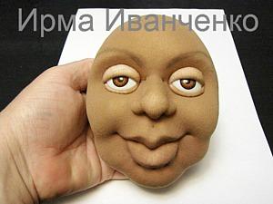 """Как я устанавливаю глаза-рыбки куклам (техника """"Скульптурный текстиль""""). Ярмарка Мастеров - ручная работа, handmade."""