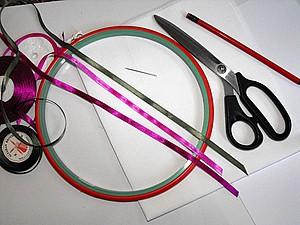Вышивка лентами.Инструменты и материалы. | Ярмарка Мастеров - ручная работа, handmade