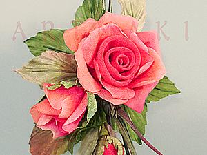 Фото-отчет июньского мини-курса шелковых цветов | Ярмарка Мастеров - ручная работа, handmade