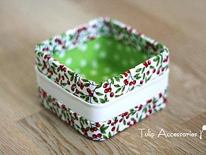 Мастерим коробочку для мелочей с тайным ингредиентом | Ярмарка Мастеров - ручная работа, handmade