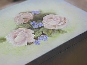 Ручная, живописная роспись сундучка. | Ярмарка Мастеров - ручная работа, handmade