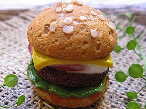 Чизбургер | Ярмарка Мастеров - ручная работа, handmade