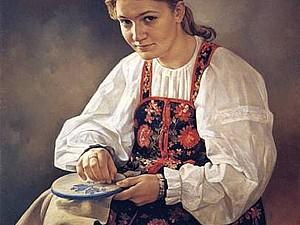 Женщины за рукоделием на картинах русских художников. | Ярмарка Мастеров - ручная работа, handmade