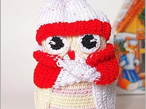 Описание игрушки Совушка | Ярмарка Мастеров - ручная работа, handmade