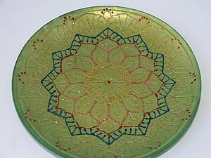 Роспись тарелки   Ярмарка Мастеров - ручная работа, handmade