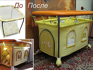 МК Домик-манеж, handmade