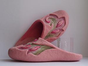 Мастер-класс по мокрому валянию домашней обуви Алеси Исмагиловой | Ярмарка Мастеров - ручная работа, handmade