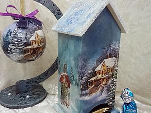 Новогодний чайный домик. | Ярмарка Мастеров - ручная работа, handmade