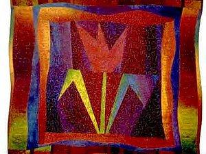 Изумительные стеганые панно от мужчины-квилтера Ricky Tims   Ярмарка Мастеров - ручная работа, handmade