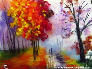 Мастер-класс по картинам из шерсти  - Ангел, Осень или Маки   Ярмарка Мастеров - ручная работа, handmade
