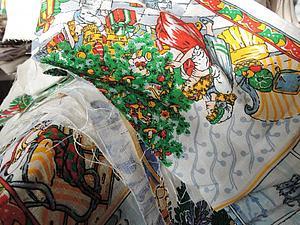 Отдм даром обрезки с новогодним рисунком   Ярмарка Мастеров - ручная работа, handmade