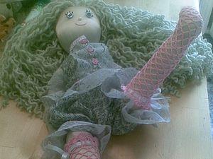 Ажурные чулочки для куколки | Ярмарка Мастеров - ручная работа, handmade